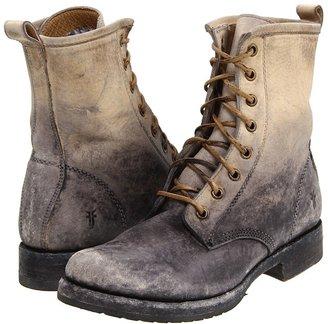 Frye Veronica Combat (Stone Stone Wash) - Footwear