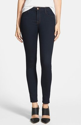 J Brand '811' Ankle Skinny Jeans (Ink) $158 thestylecure.com