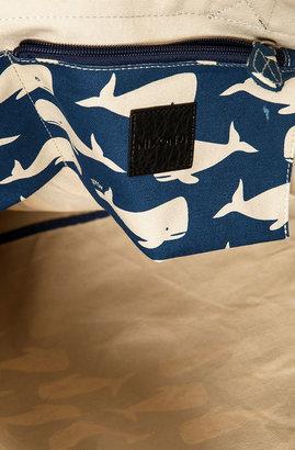 Nixon The Tree Hugger Tote in Whale Print