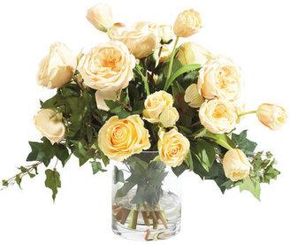 Ethan Allen Champagne Rose Tulip Waterlook