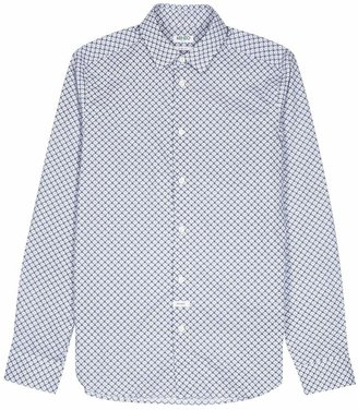 Kenzo Tiger-print Cotton Shirt