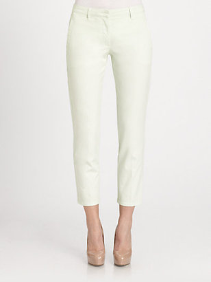 Piazza Sempione Garment-Dyed Ankle Pants