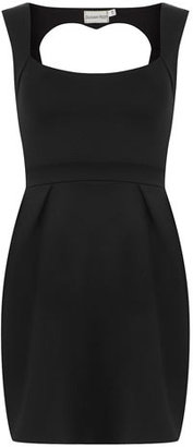 Dorothy Perkins Black cut out dress