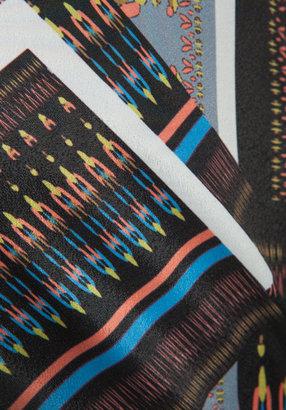Ladakh Tribal Jigsaw Maxi Dress