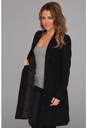"""Scully Adora"""" Wool Crepe Frock Coat"""