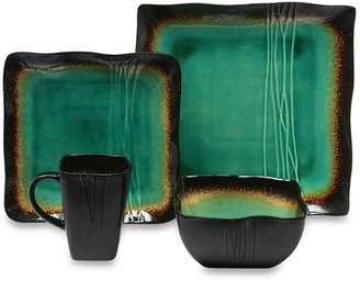 Bed Bath & Beyond Baum Galaxy Square Dinnerware Collection in Jade