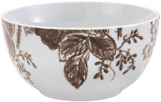 Paula Deen Signature Tatnall Street Cereal Bowl Set, 4-pc, Coffee Bean