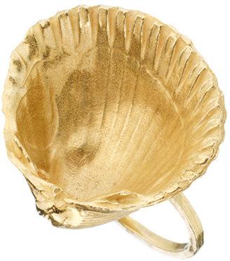 Daisy Knights Large Shell Ring