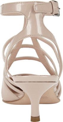 Miu Miu Caged Point-Toe Sandals