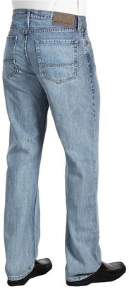 Nautica Straight Fit 5-Pocket Jean in Rockport Blue (Rockport Blue) - Apparel