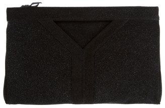Yves Saint Laurent Leather clutch