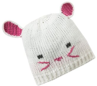Pink Cookie bunny critter beanie - kids