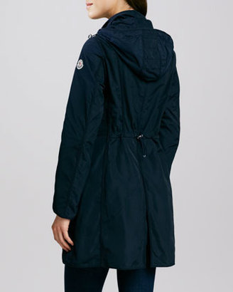 Moncler Argelia Dogwalker Hooded Coat