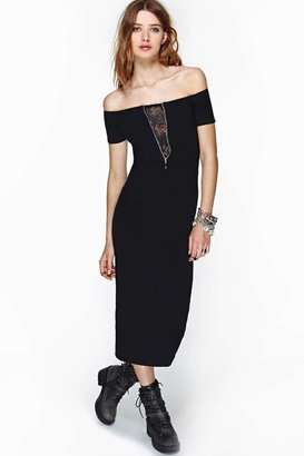 Nasty Gal Motel Leena Maxi Dress