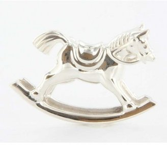 Tiffany & Co. excellent (EX) Estate Sterling Silver Rocking Horse Brooch