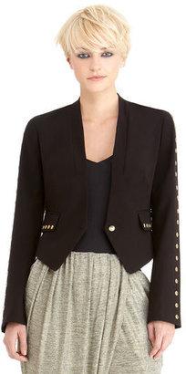 Rachel Roy Cropped Studded Blazer