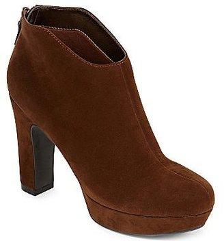 JCPenney Worthington® Naomi Back-Zip Booties
