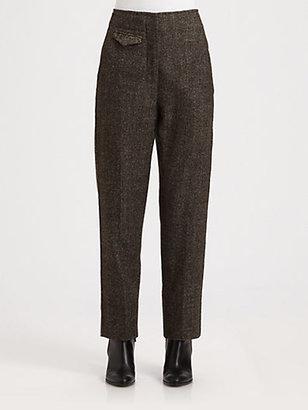 Christophe Lemaire Alpaca Patchwork Suit Pants