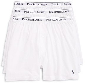 Polo Ralph Lauren Knit Boxers, Pack of 3