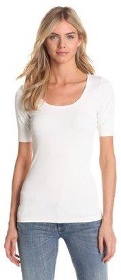 Karen Kane Women's Short Sleeve Scoop Neck T-Shirt