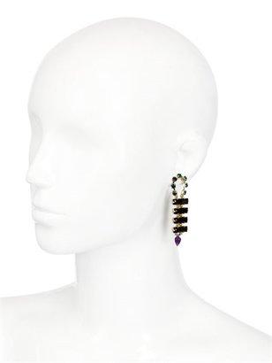 Long Spiked Earrings