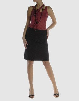 Krizia JEANS Knee length skirt