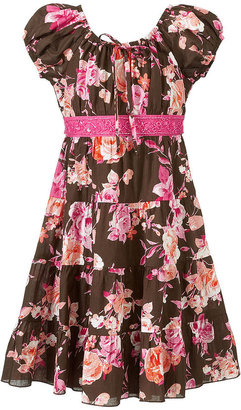 Speechless Girls Dress, Girls Floral-Print Sundress
