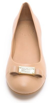 Marc by Marc Jacobs Tuxedo Logo Plaque Ballet Flats