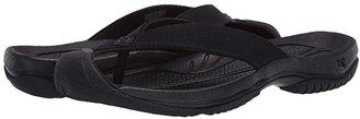 Keen Waimea H2 (Triple Black/Black) Men's Sandals