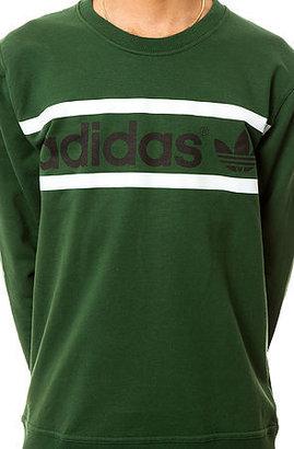adidas The Heritage Logo Crewneck Sweatshirt