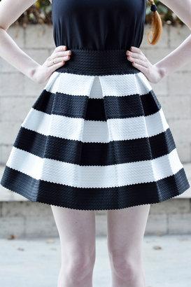 Town House Shops Lola Striped Skirt