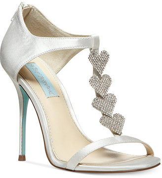 Betsey Johnson Blue by Favor Evening Sandals