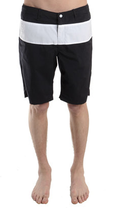 Rag & Bone Harbour Short in Black/White