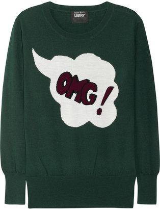 Markus Lupfer OMG intarsia merino wool sweater