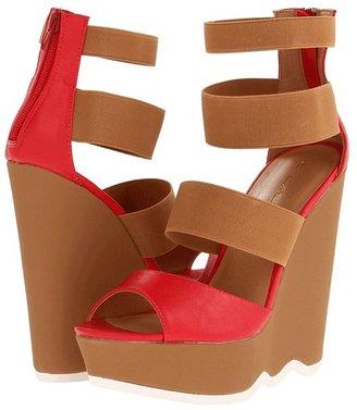C Label Carol-2 (Natural/Red) - Footwear