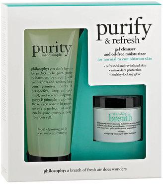 philosophy purify & refresh 1 kit