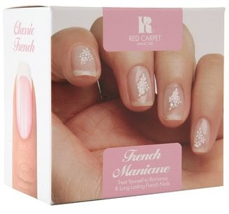 French Manicure Red Carpet Manicure Nail Art Kit, 1.0set