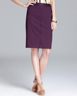 Jones New York Collection Stitch Detail Skirt
