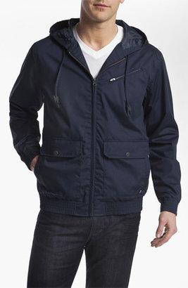 RVCA 'Sil II' Hooded Jacket Large