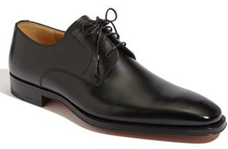 Men's Magnanni 'Colo' Plain Toe Derby $325 thestylecure.com
