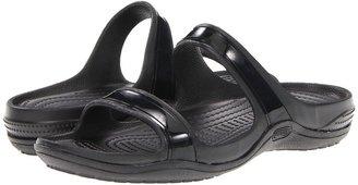 Crocs Patra II Sandal (Black/Black) - Footwear