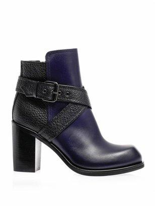 McQ by Alexander McQueen Nazrul block-heel boots