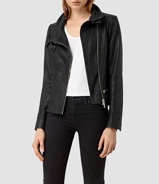 Bales Leather Biker Jacket $560 thestylecure.com