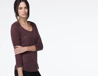 James Perse Lightweight Scuffed Knit Sweater