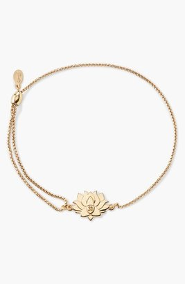Women's Alex And Ani 'Providence - Lotus Peace' Pull Chain Bracelet $68 thestylecure.com