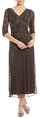 Pisarro Nights Beaded Lace Gown $198 thestylecure.com