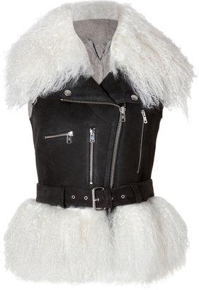 McQ by Alexander McQueen Vest in Black