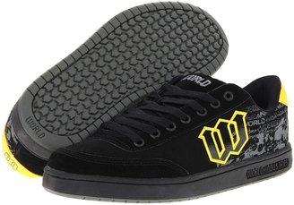 World Industries Basic SE (Black/Yellow Doomsday) - Footwear