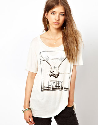 Capture By Hollywood Made I Wanna Hold Your Hand Oversized T-Shirt