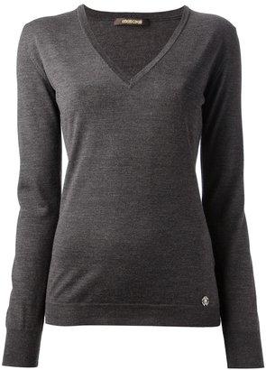 Roberto Cavalli v-neck sweater